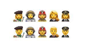 Emoji Berufe 2016 Update