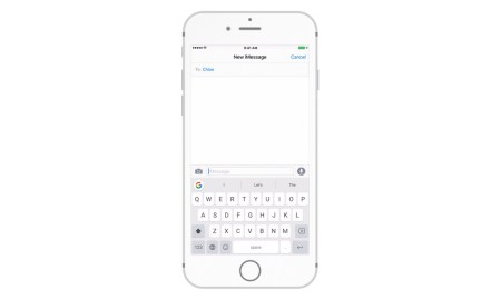 Gboard iPhone Header