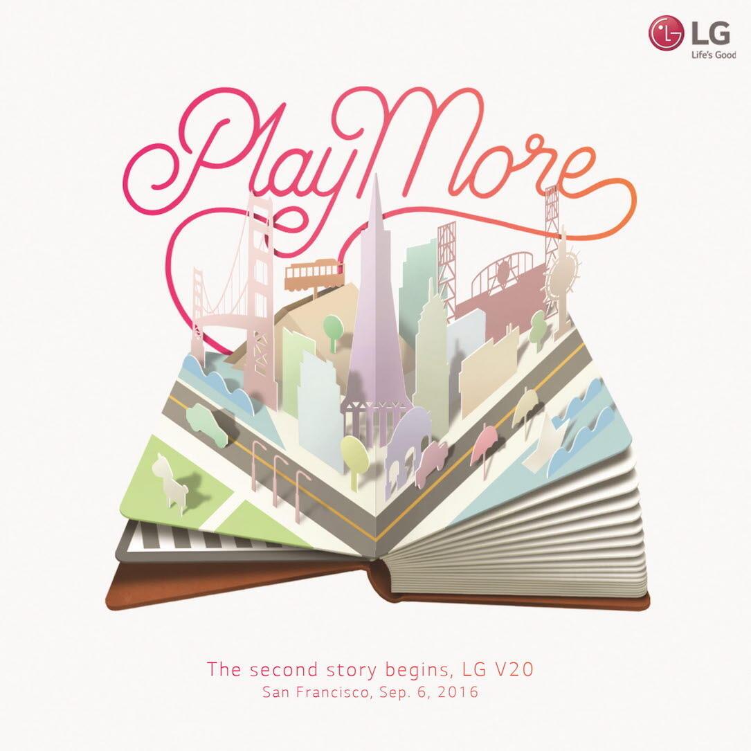 LG V20 Einladung