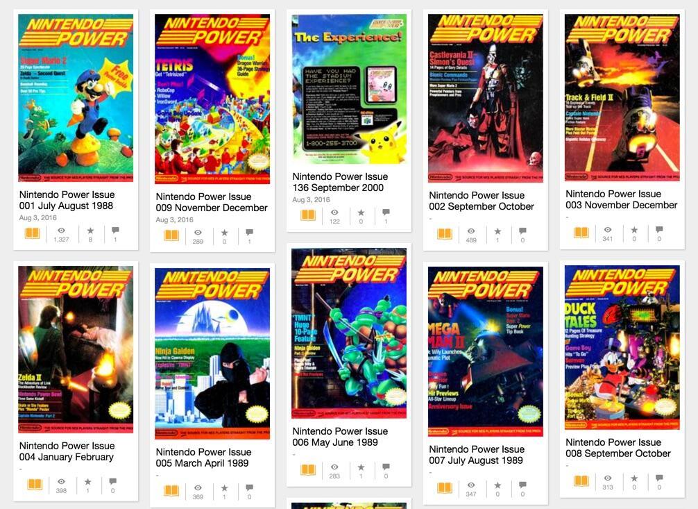 Nostalgie-Fans: 13 Jahre Nintendo Power-Ausgaben anschauen