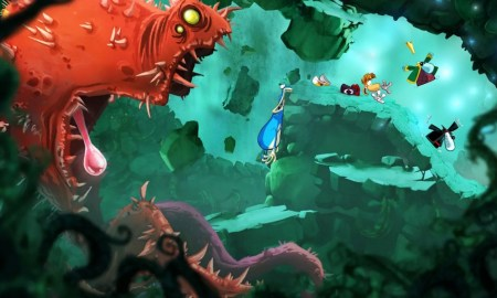 Rayman Origins Screenshot