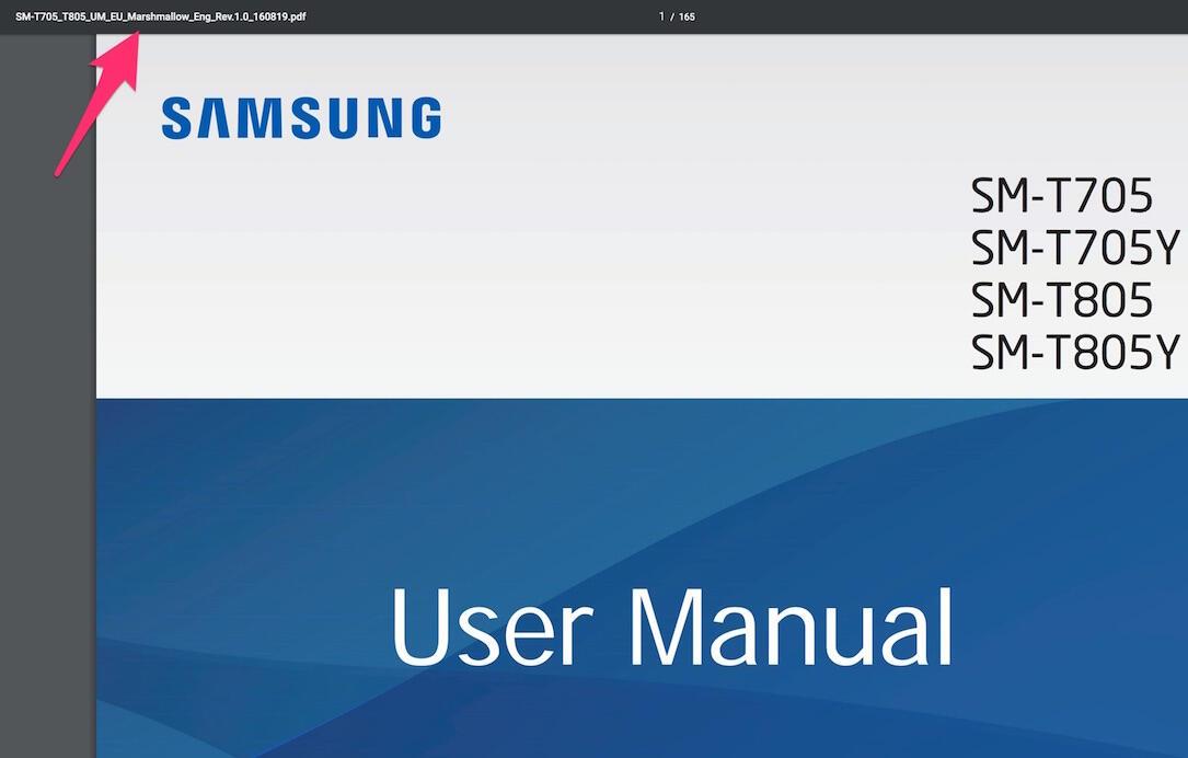 Samsung Galaxy Tab S Marshmallow
