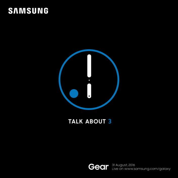 Samsung Gear Einladung