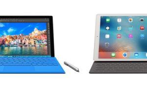 Surface iPad