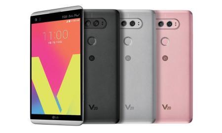 LG V20 Header