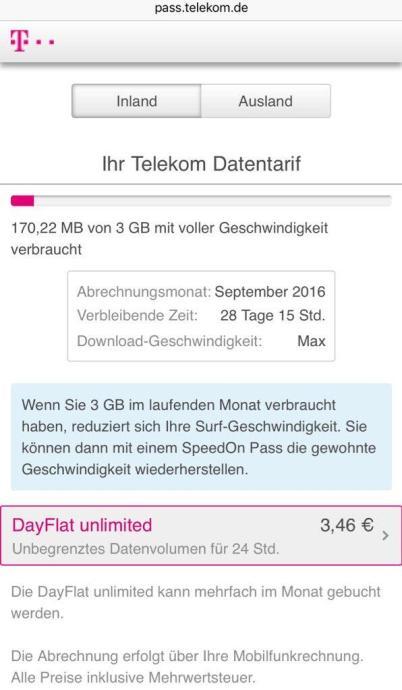 dayflat telekom