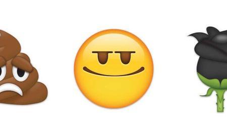 emojirequest-sadpoop-smug-blackrose-emojipedia