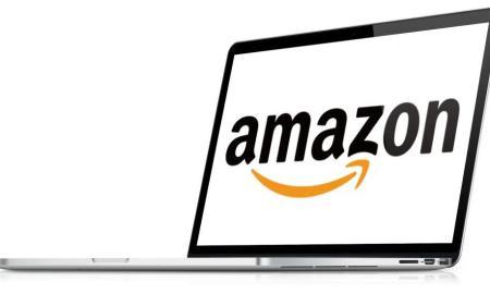 Amazon auf Notebook