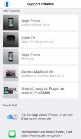 Apple Support App