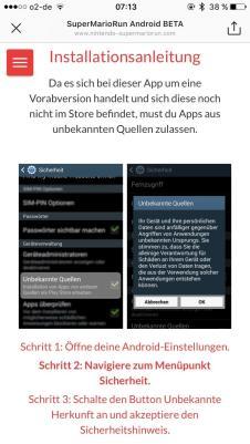 Super Mario Run Android Fake Screens6