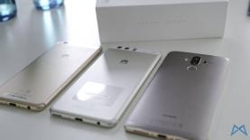 Huawei P10 und P10 Plus und Mate 9 Groesse