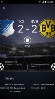 Amazon Music Bundesliga App Android 04