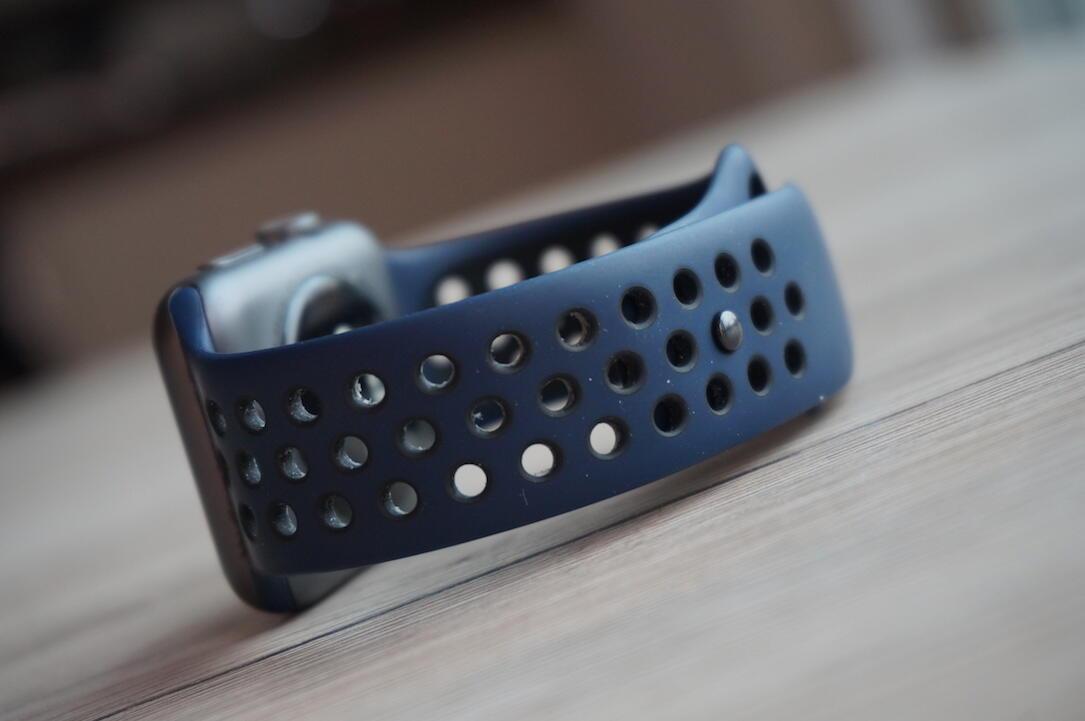 Apple Watch Nike Band Blau2
