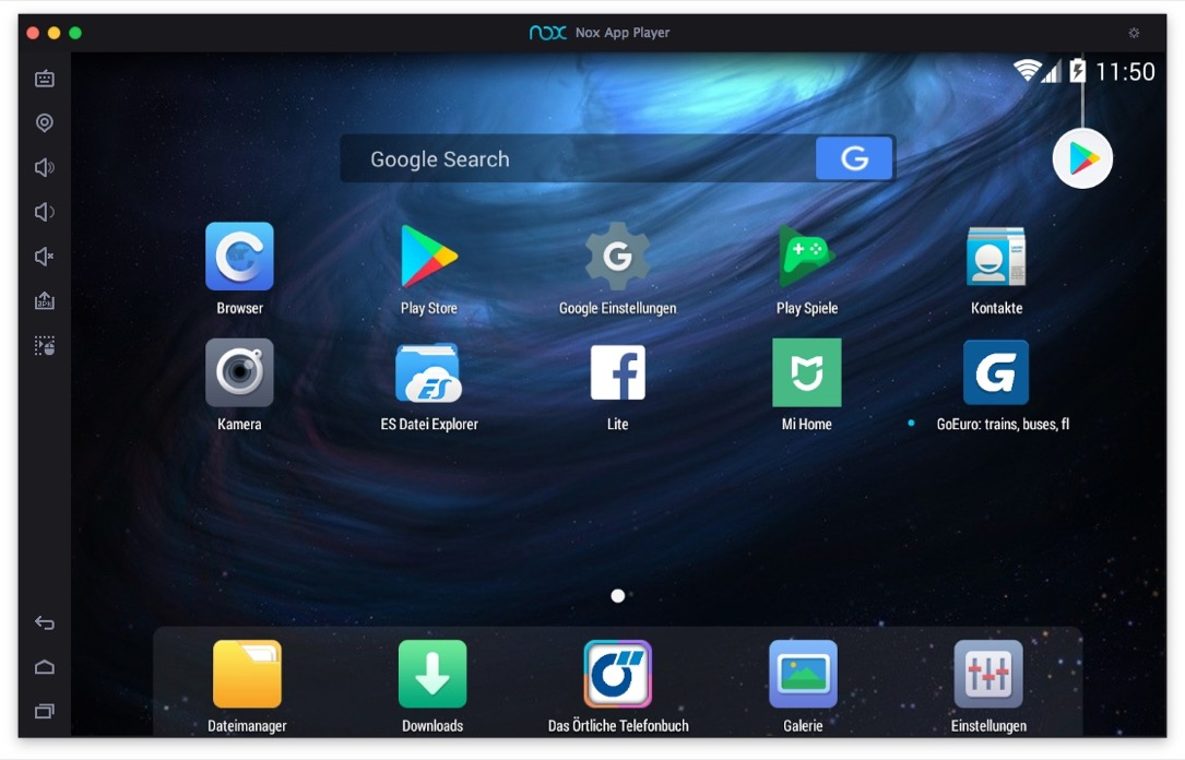 Nox App Player Android Home