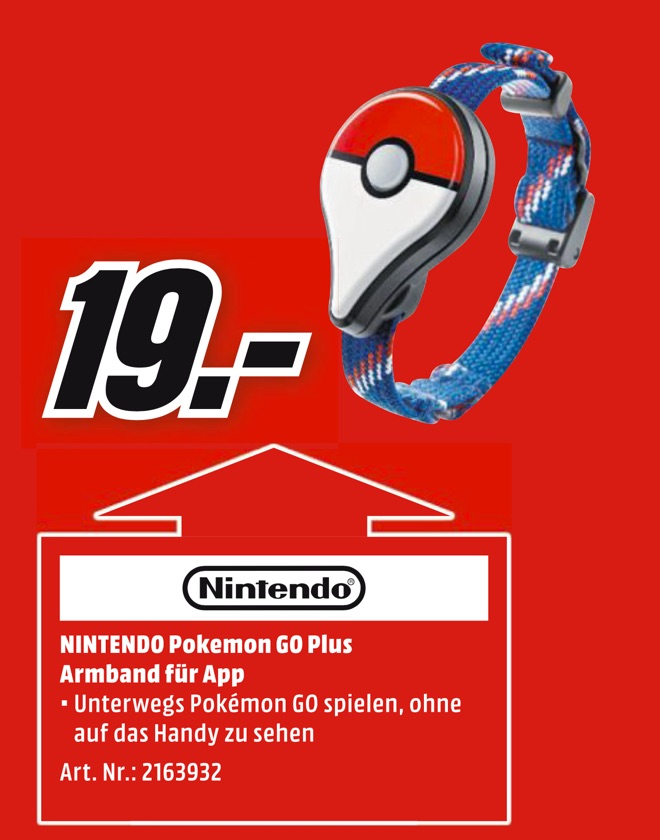 Pokemon Go Plus Media Markt