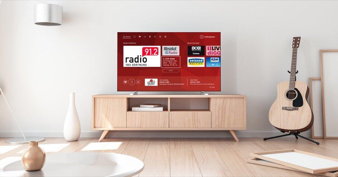 Radioplayer Smart Tv App
