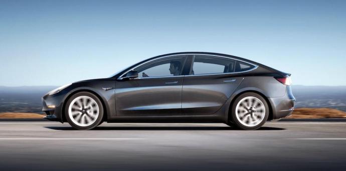 Tesla Model 3 Midnight Silver