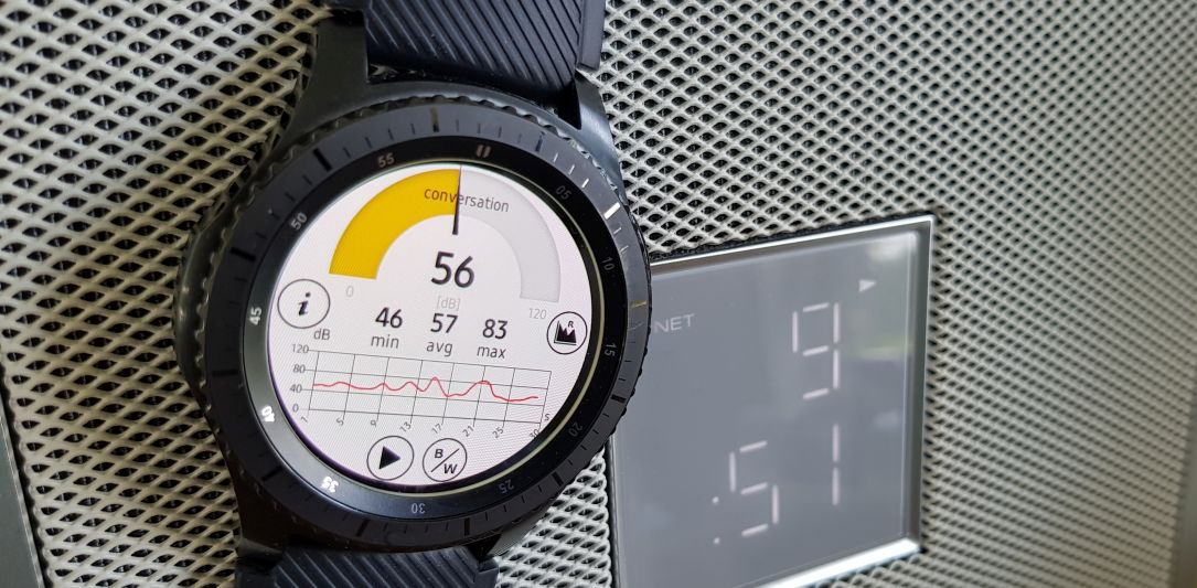 Decibel Meter Tizen Smartwatch