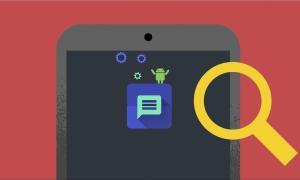 Google Android Suche Header