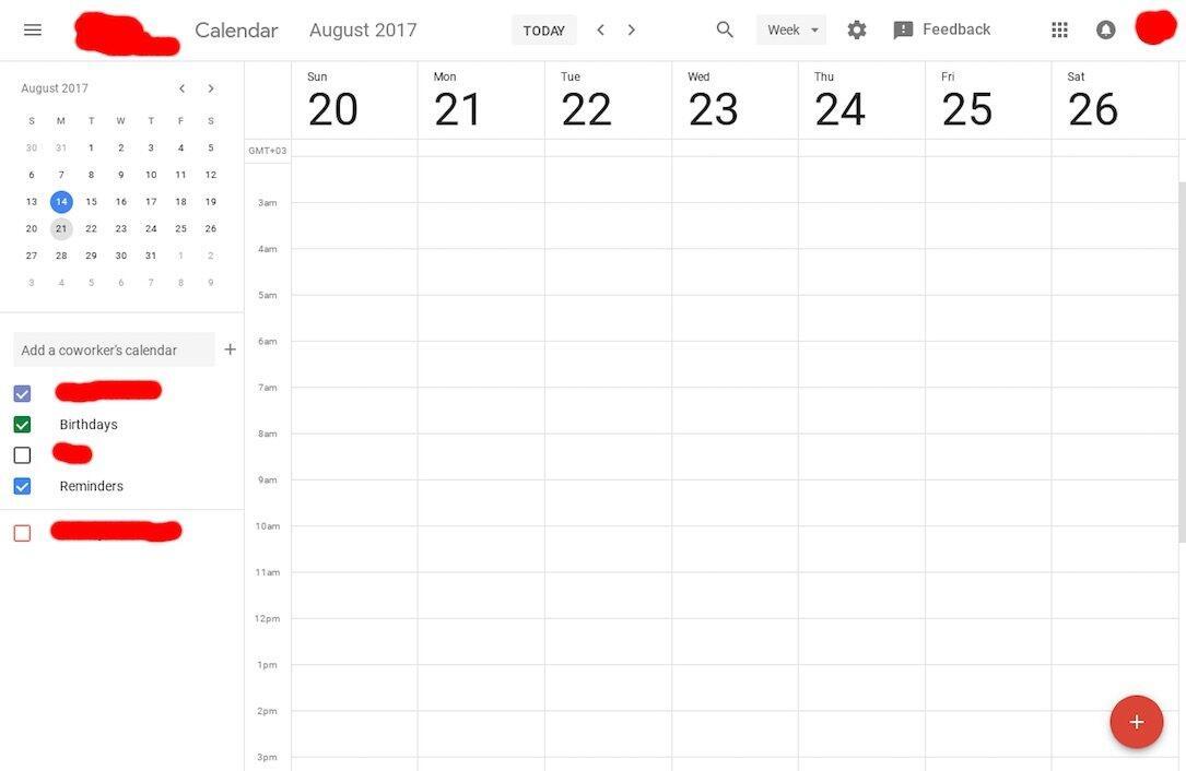 Google Kalender Design 2