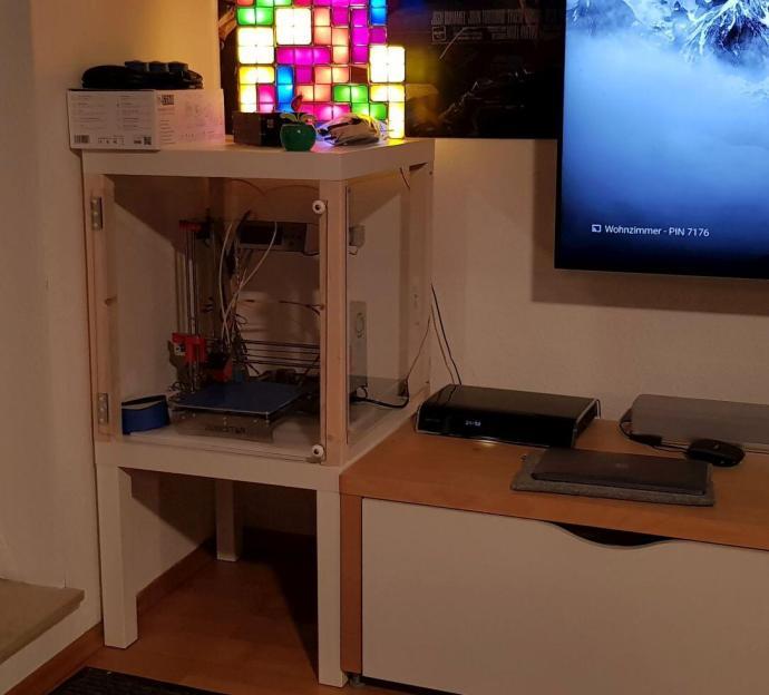 Ikea Lack Hack 3d Drucker