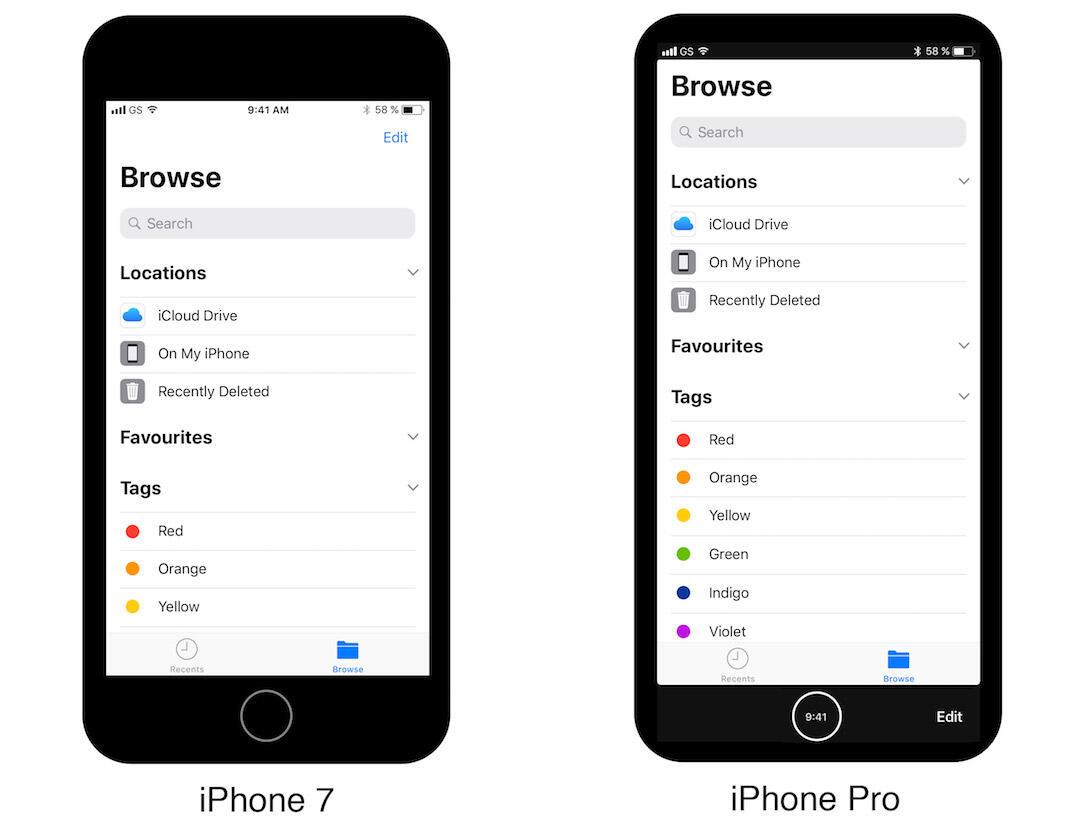 Iphone Pro Konzept