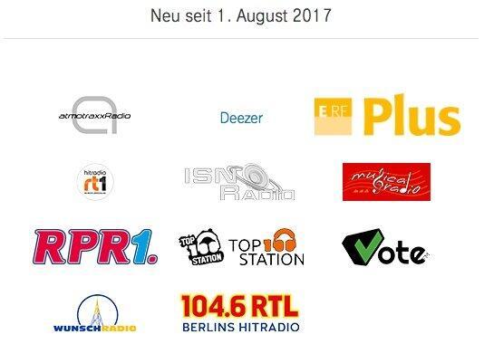 Neue Partner Audio August