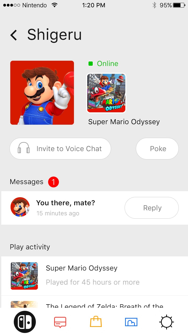 Nintendo Switch App Konzept1