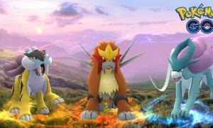 Pokemon Go Entai Raikou Suicune