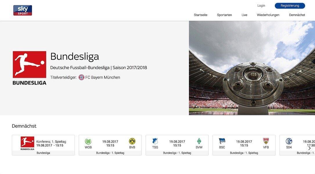 Sky Sport Website