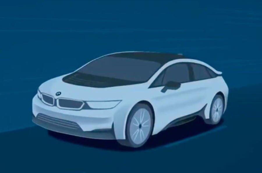 BMW i-Vision Dynamics soll Tesla Konkurrenz machen