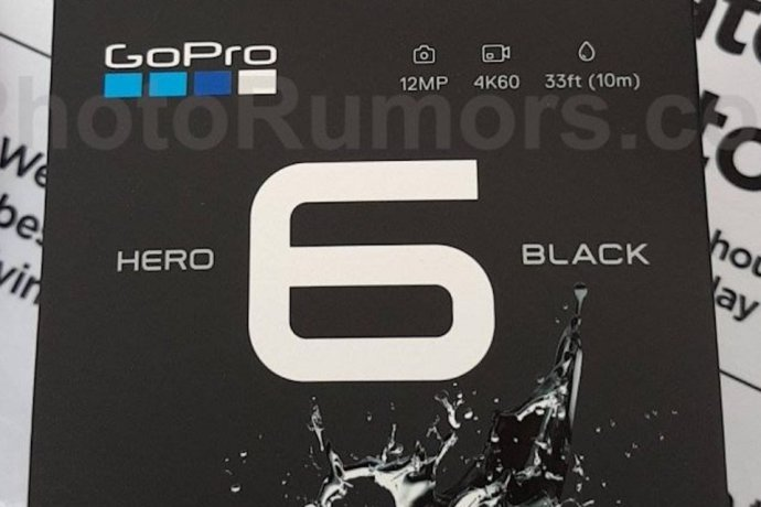 Gopro Hero 6 Black Leak Header