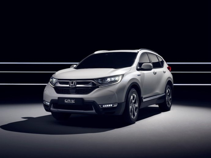 Honda To Unveil Cr V Hybrid Prototype At Frankfurt Motor Show