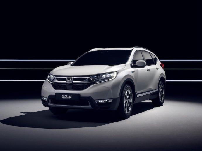 Honda To Unveil Cr V Hybrid Prototype At Frankfurt Motor Show