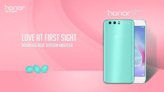 Honor 9 Robin Egg Blue