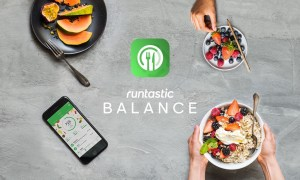 Runtastic Balance Header