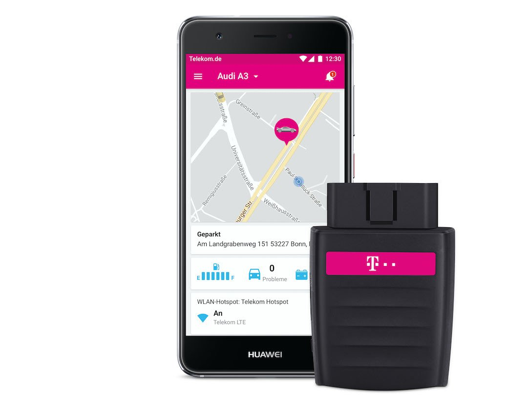 Telekom Carconnect Header