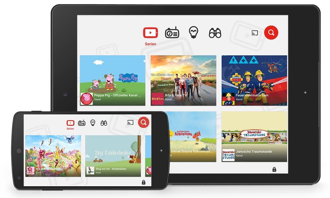 Google: YouTube Kids startet in Deutschland und Österreich