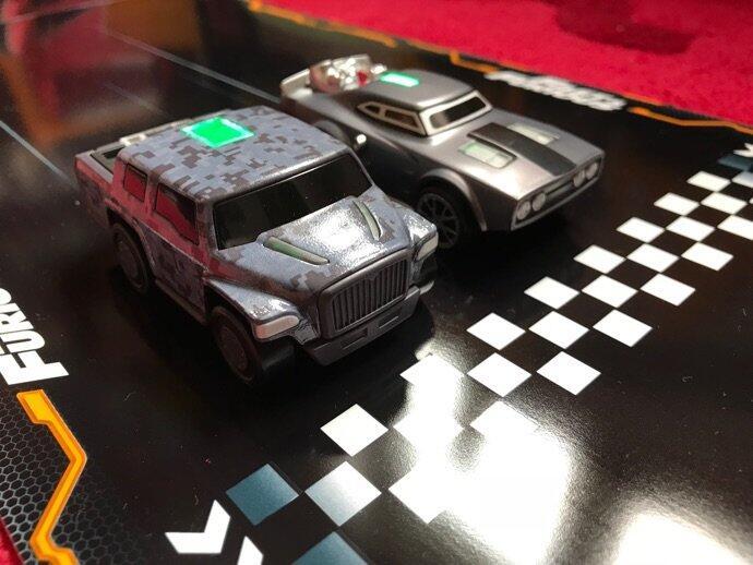 Anki Overdrive Fast And Furious Fahrzeuge Front Nahaufnahme