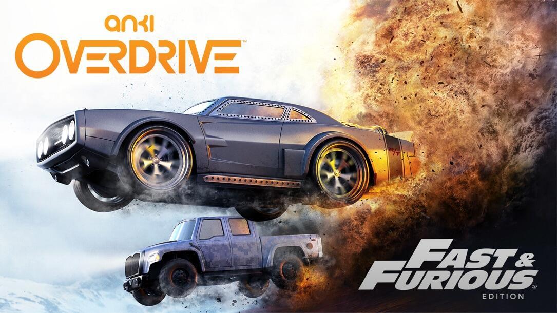 Anki Overdrive Fast & Furious Edition Key Art