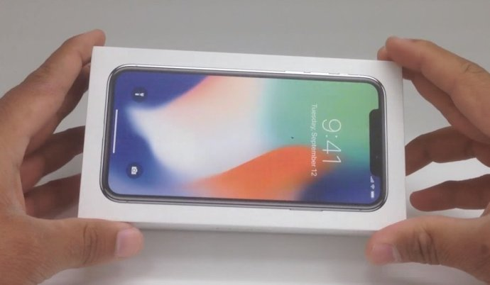 Apple Iphone X Unboxing