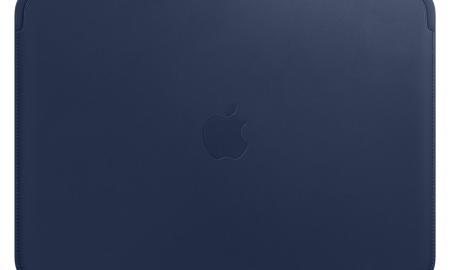 Apple Macbook Leder Case Blau