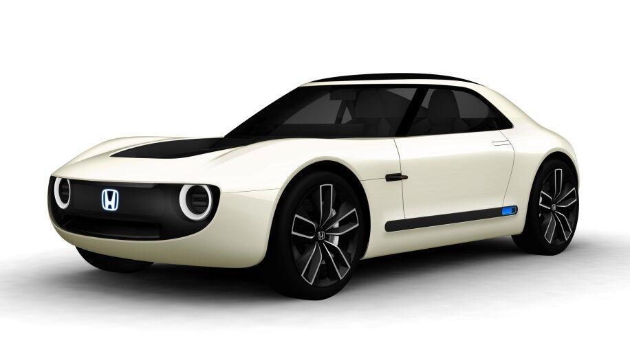 Honda Sport Ev Front