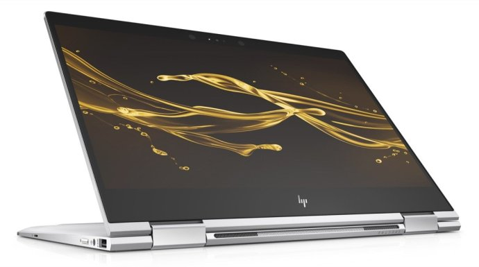 Hp Spectre X360 13 Natural Silver Stand
