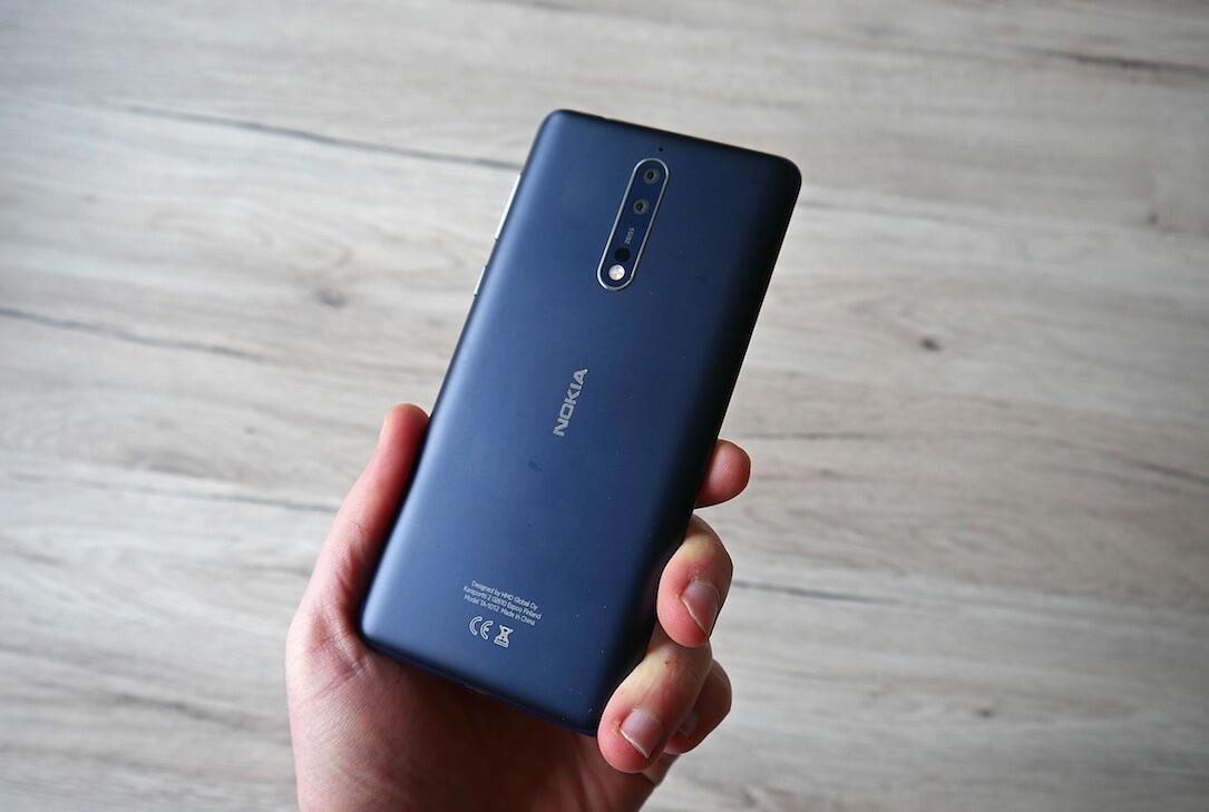 Nokia 8 Header