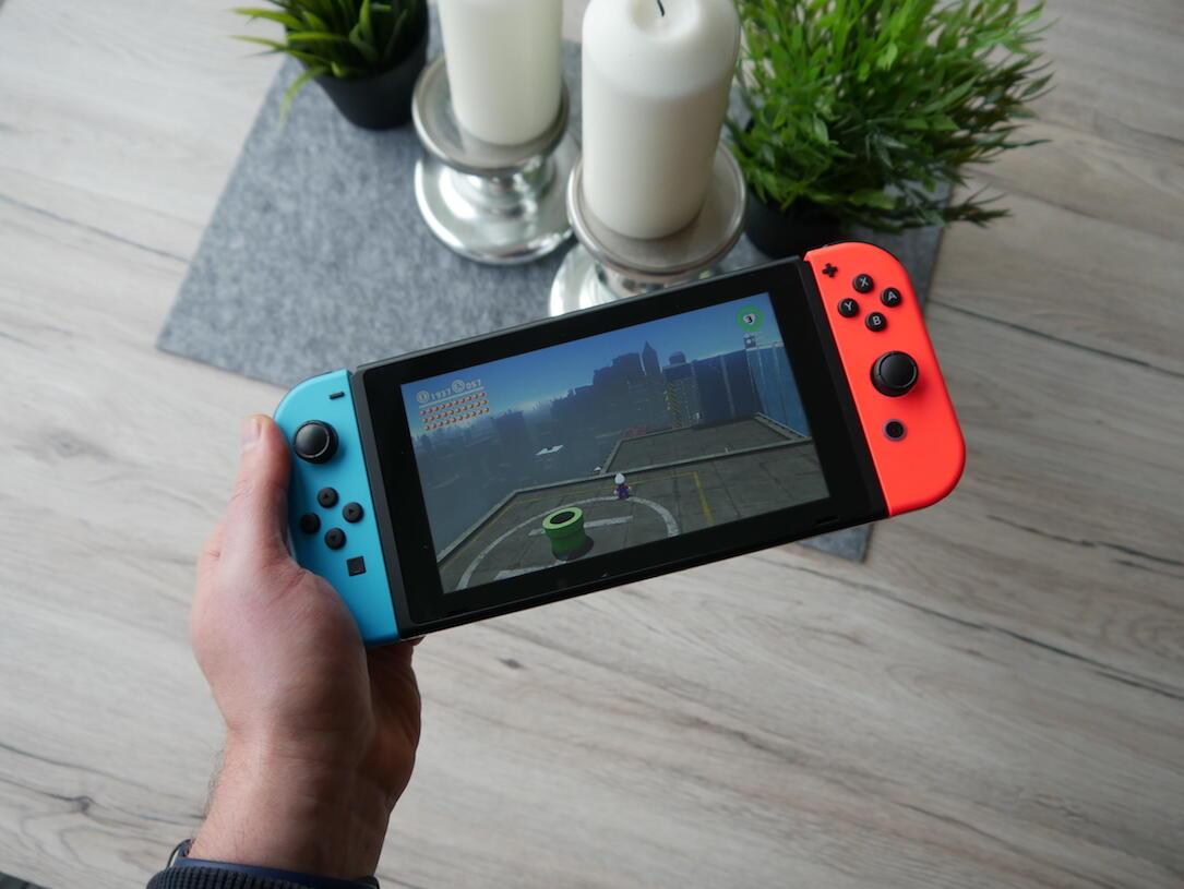 Super Mario Odyssey Test Hand