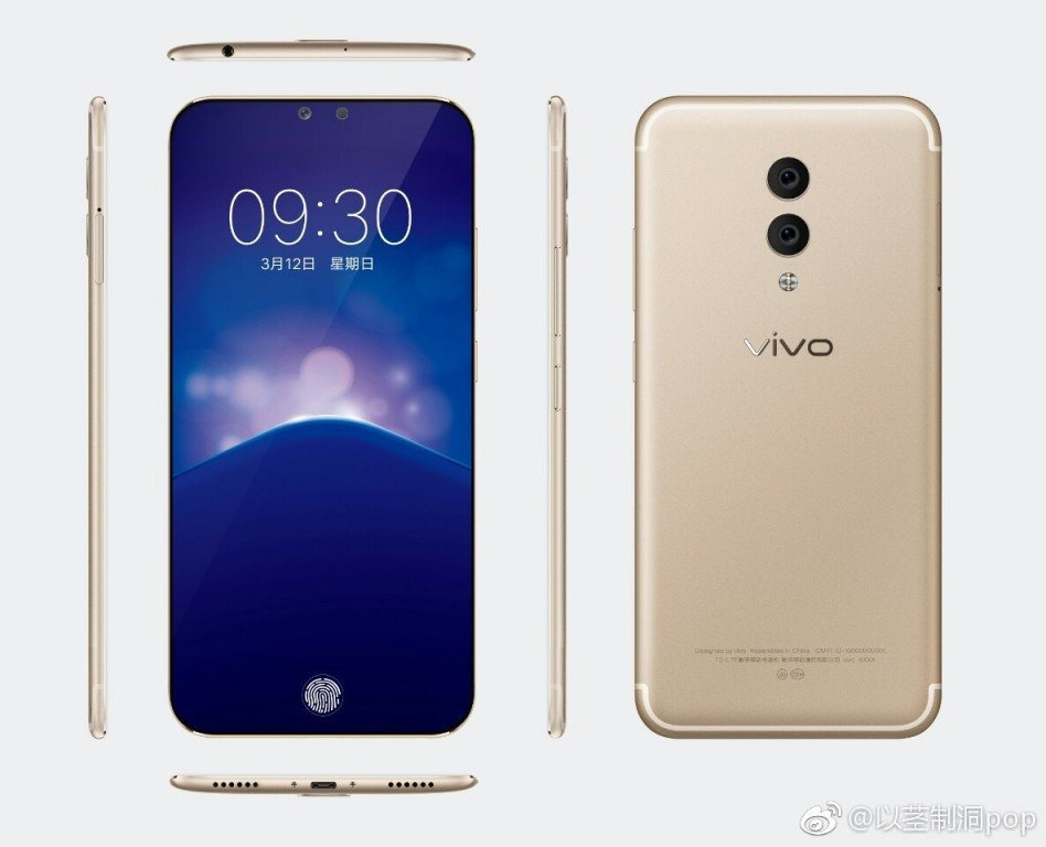 Vivo Xplay7 Leak Gold