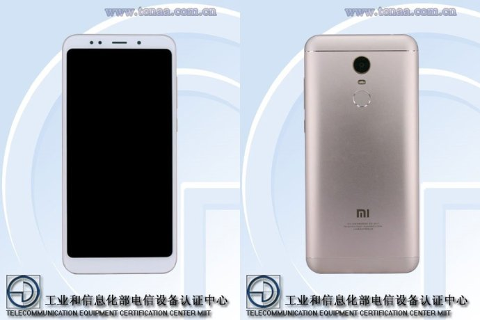 Xiaomi Redmi Note 5 Tenaa