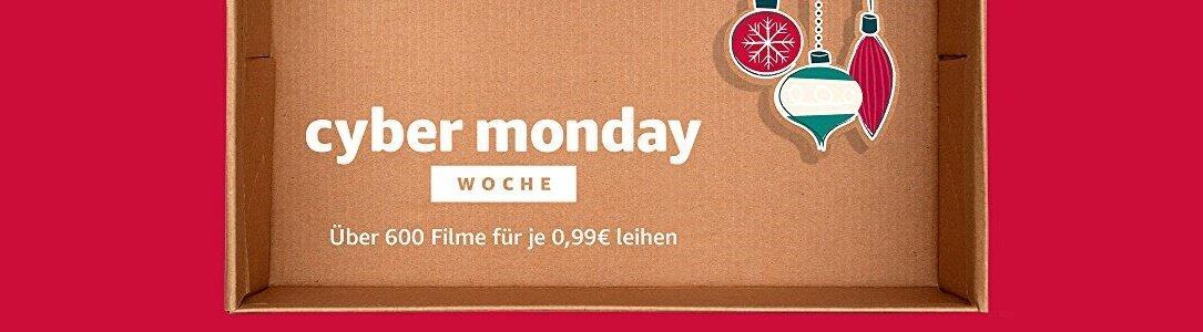 Amazon Cyber Monday Woche Filmeabend