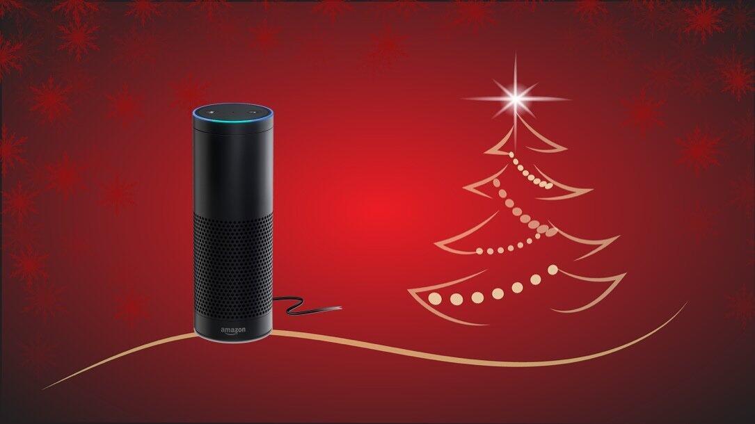 Christmas Alexa Echo